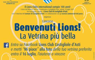 Benvenuti Lions! La Vetrina più bella