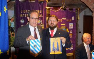 Il Governatore Gian Costa ed il Presidente Mauro Imbrenda