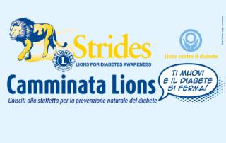 Camminata Lions. Prevenzione diabete