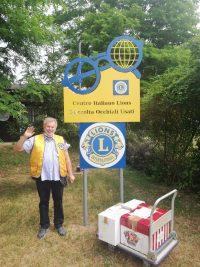 Il nostro socio Gianmario Stella al Centro Italiano Lions Raccolta Occhiali Usati di Chivasso